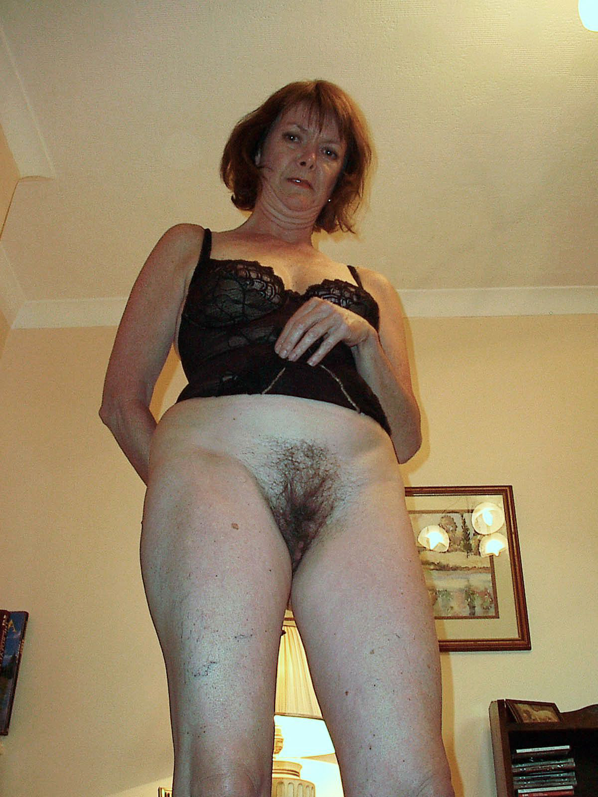 Mature women with hairy pussies