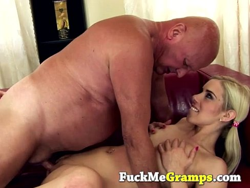 Teen cock in old pussy