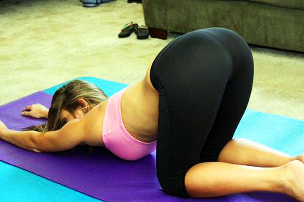 Hot chick bent over