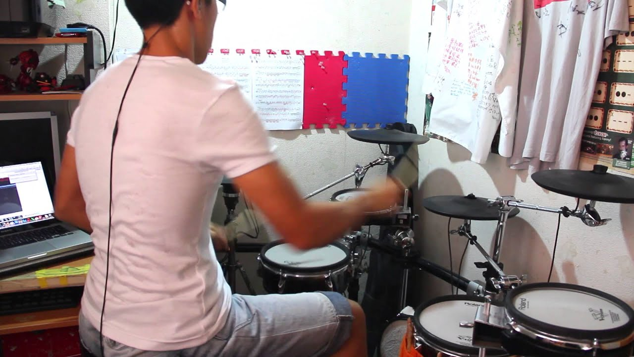 Almost easy cover drum
