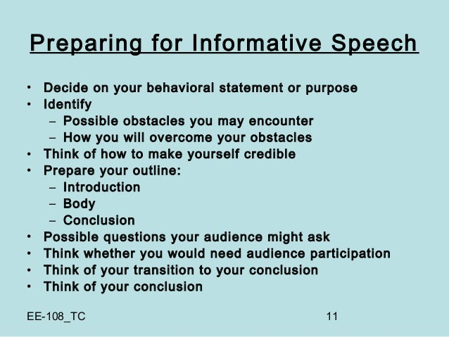 How to deliver an oral presentation