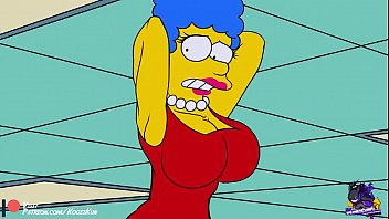 Marge simpson pussy flash