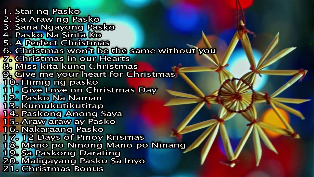 Popular christmas songs in the philippines