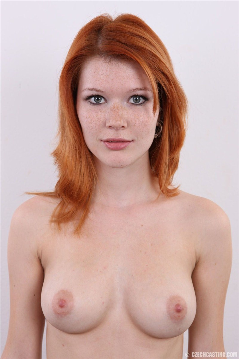 Red haired green eyed women naked