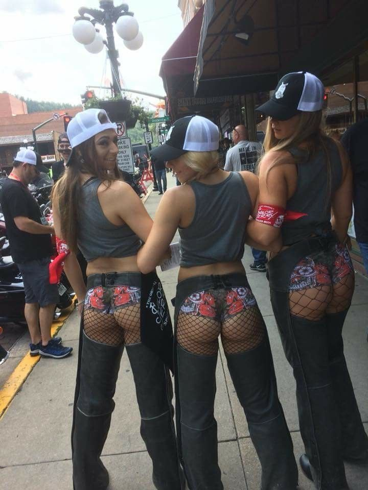 Sexy babes at sturgis